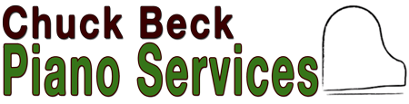 Chuck Beck Piano Services logo