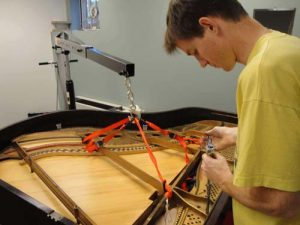 Chuck Beck Piano Rebuild